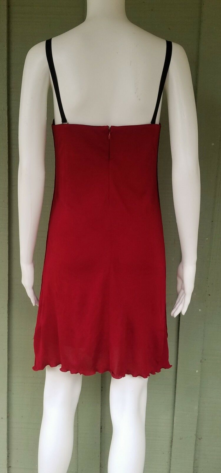 NWT  795 795 795 JERSEY by COSTUME NATIONAL Red Dress 42 8 2adf6d