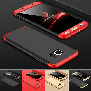 Huelle-fuer-Samsung-Galaxy-S7-S7-Edge-Full-Cover-360-Grad-Handy-Schutz-Case