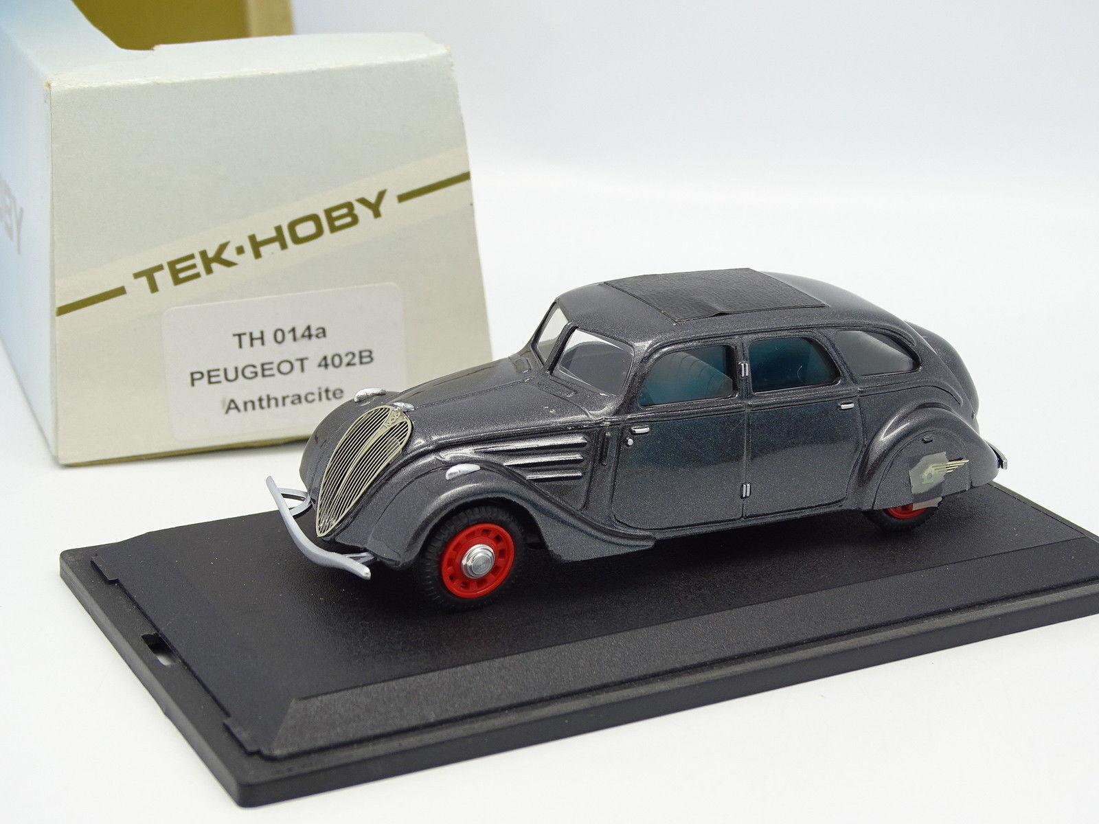 Tek Hoby Resin 1 43 - Peugeot 402 B Anthracite