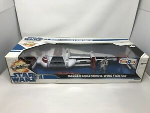 2008 Star Wars Legacy Collection Dagger Squadron B-Wing Fighter Toys R Us NIB