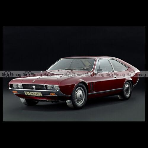 BERTONE Car Auto #pha.024480 Photo ISO LELE PROTOTYPE 1969