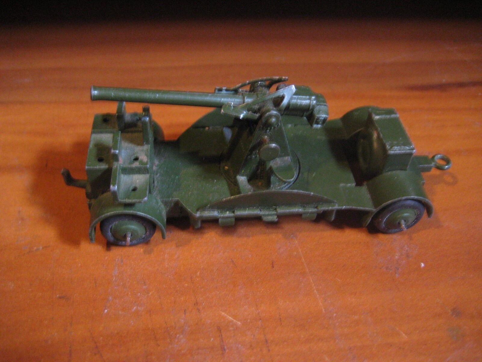 Dinky Juguetes 690 cañón antiaéreo con ruedas de goma por Meccano