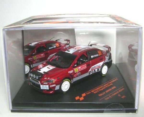 Mitsubishi Lancer Evo X No. 59 Rally Japan 2008  | Authentisch