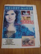 MELODY MAKER 1990 FEBRUARY 24 COWBOY JUNKIES CREATURES JULIAN COPE JULEE CRUISE<