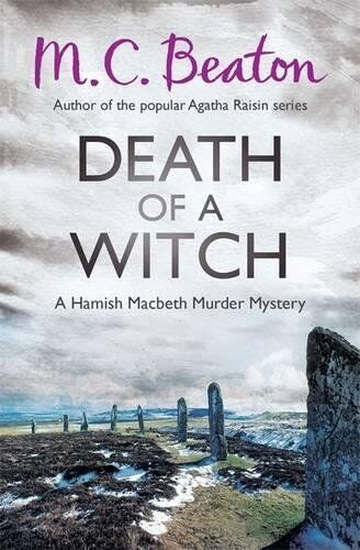 1 of 1 - Death of a Witch (Hamish Macbeth) by Beaton, M.C. 1472105435 The Cheap Fast Free