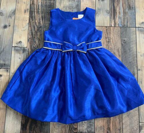 NWT GYMBOREE Girls Beautiful Blue Easter WEDDING Bow DRESS Size 3t