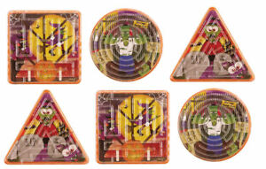 12-Halloween-Maze-Puzzles-Pinata-Toy-Loot-Party-Bag-Fillers-Kids-Trick-Treat