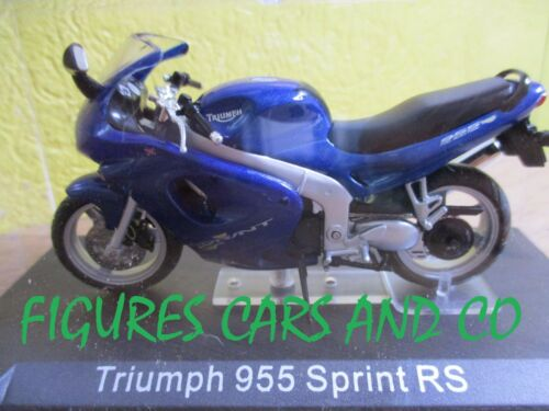 Moto collection gm 1//24 triumph 955 sprint st motorrad motorcycle