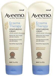 Aveeno Active Naturals Eczema Therapy Moisturizing Cream Fragrance 206 G