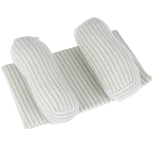 Comfortable Cotton Anti-roll Pillow Lovely Baby Toddler Safe Striped Sleep CJ