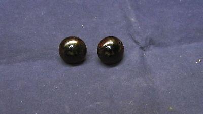 18 mm Brown Vintage Handblown German Glass Eyes     E25