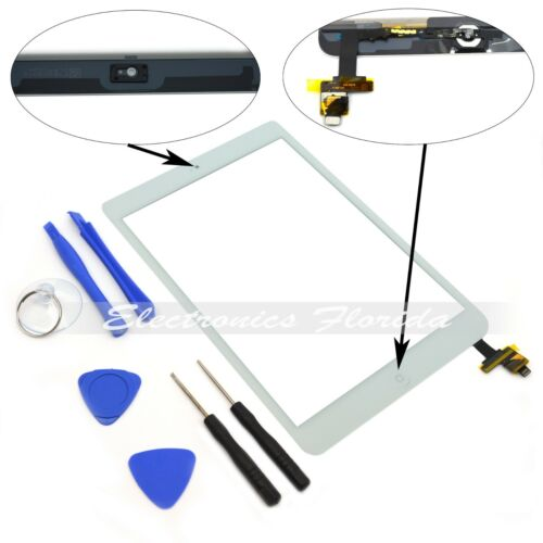 White Touch Screen Digitizer Replacement For Apple iPad mini 1st /& 2nd  Black