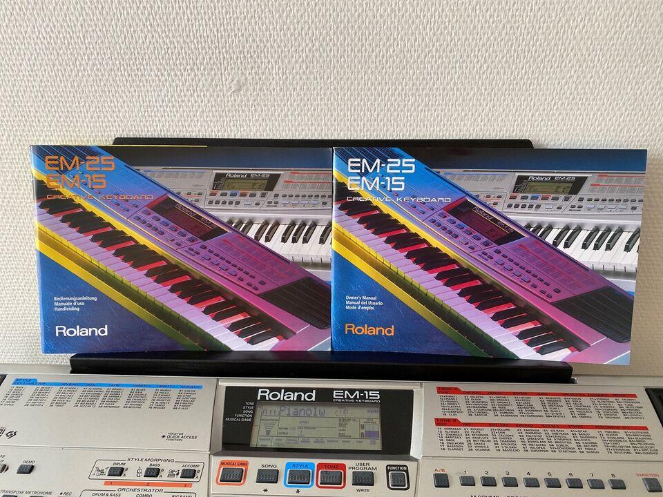Keyboard, Roland EM-15