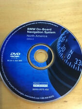 OEM BMW GPS Navigation Map DVD disc USA/Canada in MK4 Trunk Mounted NAV SYSTEMS