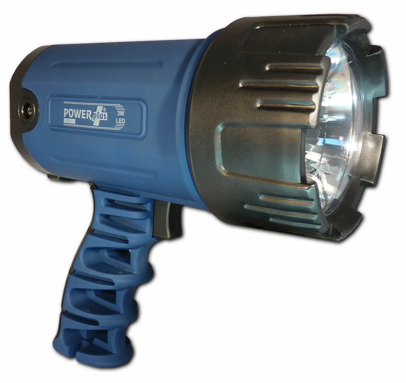 Power Plus Lion Wind-Up Searchlight & Plug Flashlight