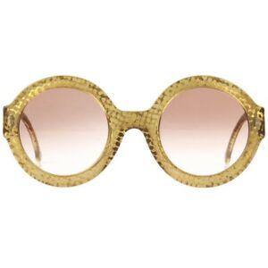 4520d79b883a9 Christian Dior S s 1992 Translúcido Ouro Dot Óculos De Sol Armação ...