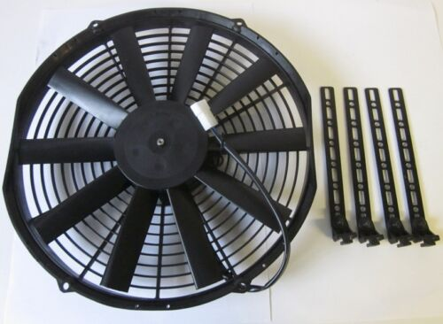 Spal Radiateur Ventilateur 350 mm Total 380 mm aspirante avec 4 support OPEL Oldtimer