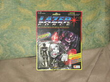 1994 Lazer Force Resistor With Light-Up Weapon/Thermo Dish The Corps! Lanard New