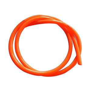 Motorcycle-Bright-color-Fuel-Line-8mm-30-Orange-Fuel-Gas-Hose-Tube-NT