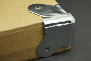 4pcs Chrome Metal Amp stage Speaker Cabinet Wrap Music Angle Corner Protecter