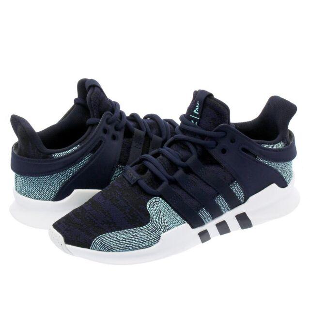 new photos 4993b 1f2eb Adidas Originals EQT Support ADV CK Parley Blue Sneakers CQ0299 NEW  Authentic