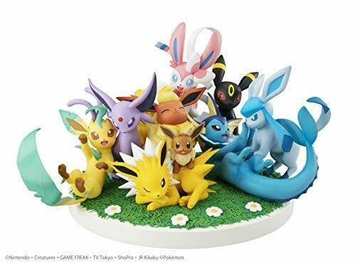 Megahouse Edelstein G. E. m. Ex Serie Pokemon Eevee Freunde Etwa 14cm PV