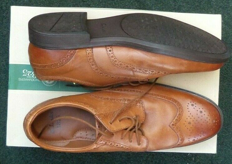 CLARKS - Mens Brown SWIFT TURN Shoes...Size UK 11...NEW IN BOX...Fast Post