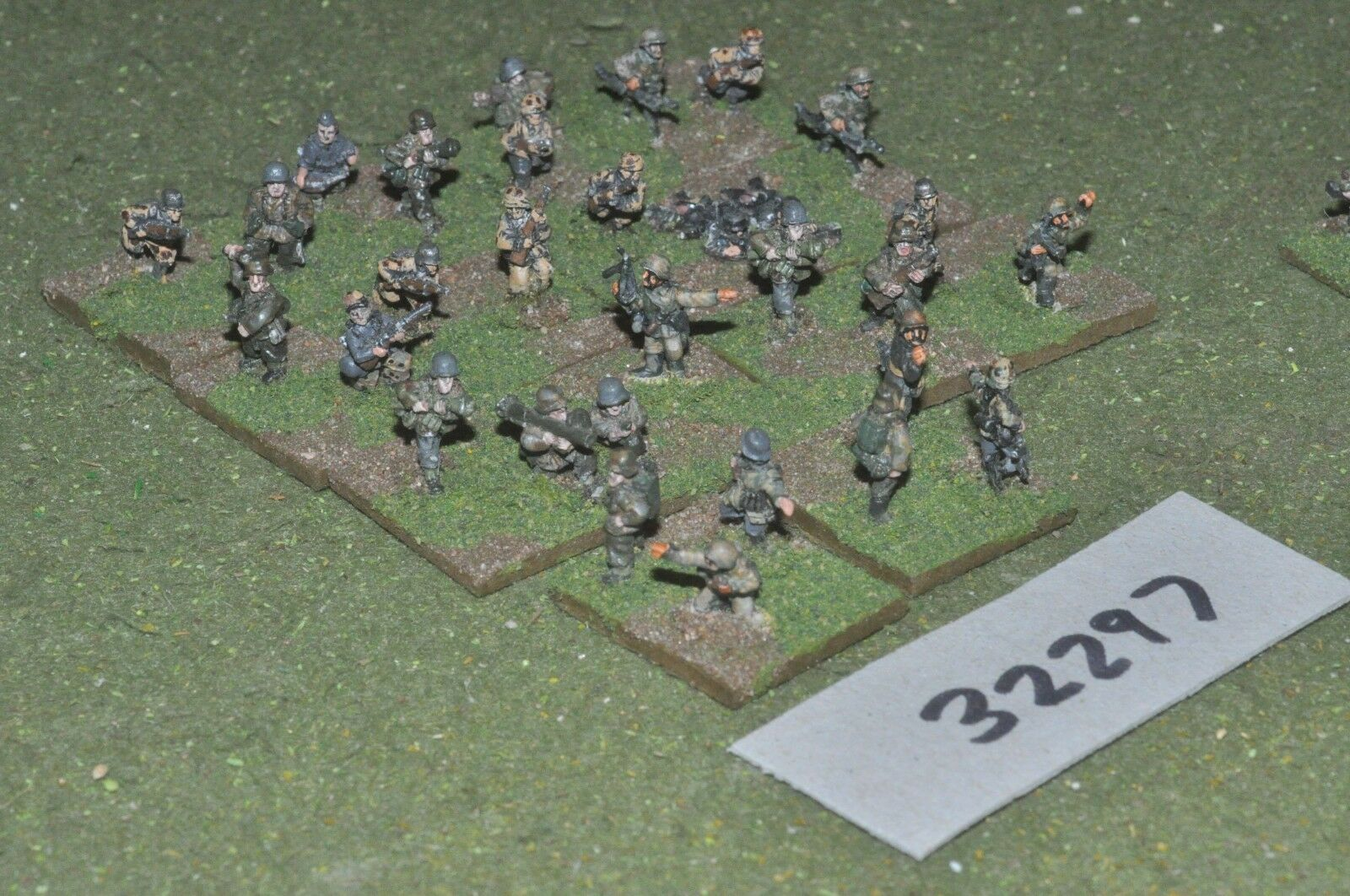 15mm WW2   german - section 30 figures - inf (32297)