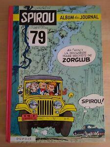Le-Journal-de-Spirou-Album-N-79-reliure-editeur-Dupuis-1960