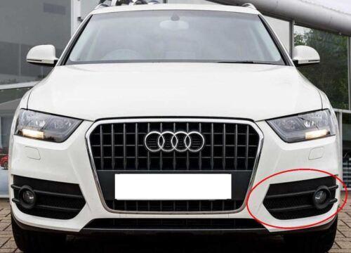 Audi Q3 8U Nouveau Véritable passager pare-chocs Avant Brouillard Lampe Grill Lampe Trim 2011-14
