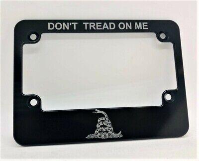 Black anodized SLIMLINE License Plate Frame Billet Aluminum