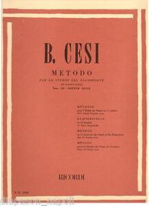 Benjamin Cesi : Verfahren Für Lo Studio Der Klavier Heft 10° - Erinnerungen