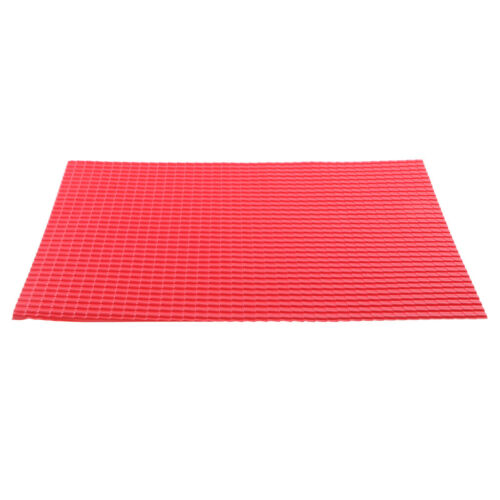 10x 1:25 Scale Roof Tile Sheet Building Sand Table Model Making Material Red