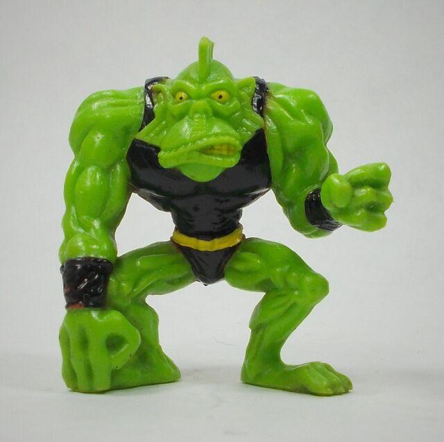Monster 'Wrestlers' in my Pocket - W17 Gizzard the Lizard - Black - Mini Figure