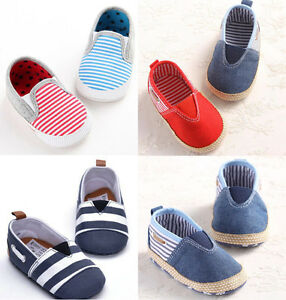 slip on low top toddler baby boy canvas shoes