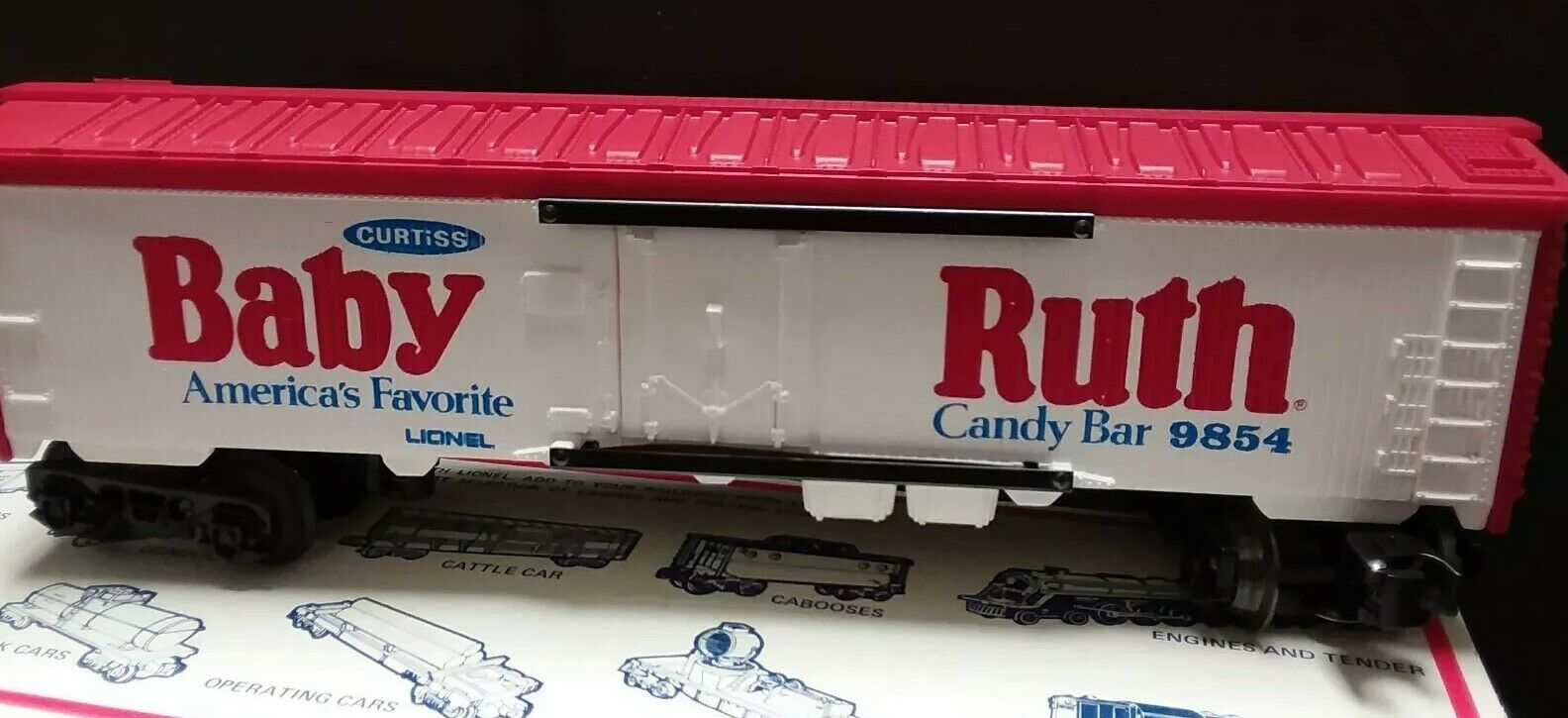 Lionel 6-9854 Baby Ruth Reefer Car