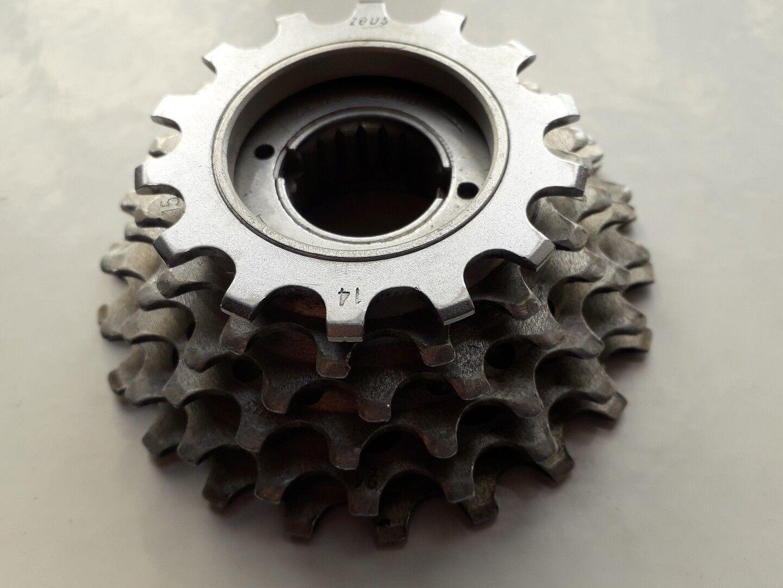 Vintage Zeus 2000 Freewheel,cassette 6 6 6 Speed L'Eroica 9738d2