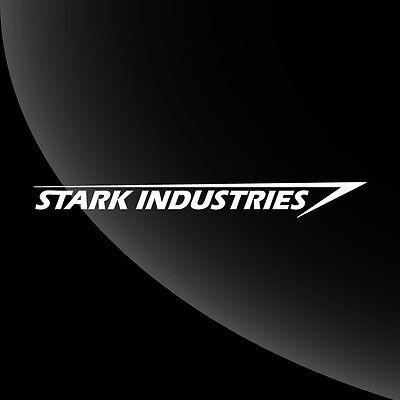 Tony Stark Industries Iron Man Decal Sticker - TONS OF OPTIONS