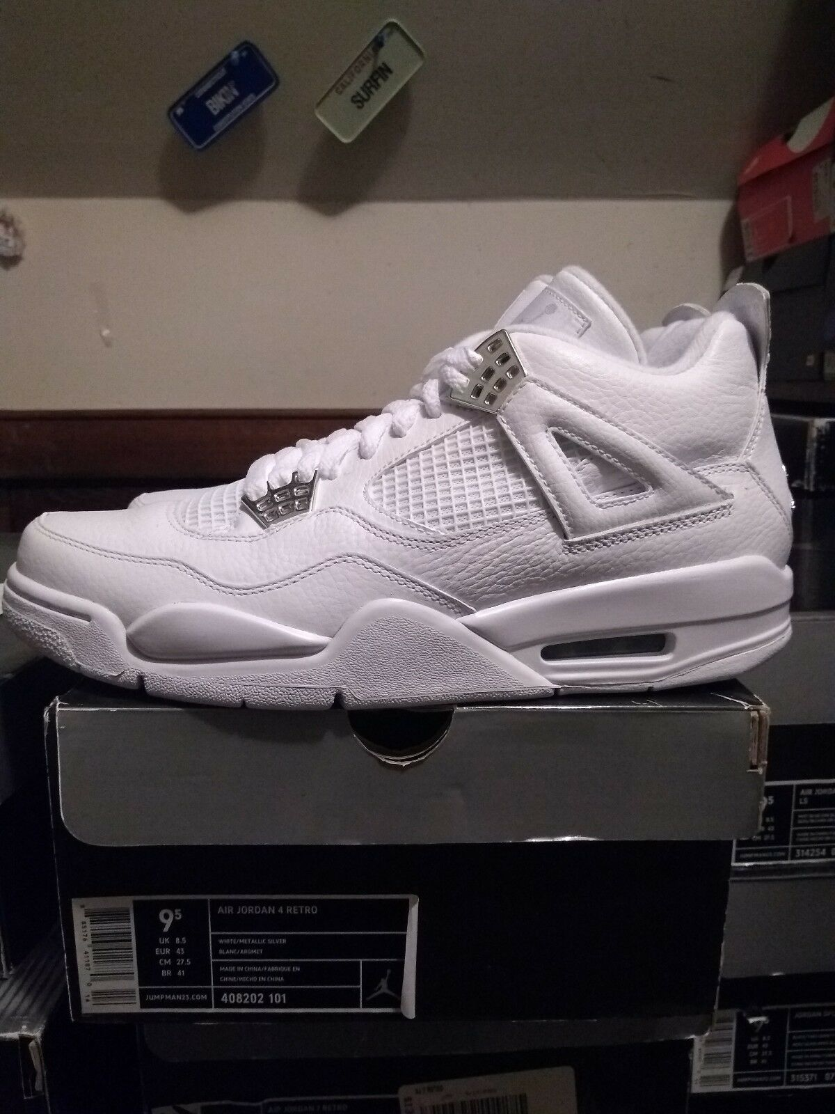 Jordan 4 Pure Money 2009 Size 9.5 Brand New DS 100% Authentic