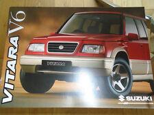 Suzuki Vitara V6 range brochure Jun 1996
