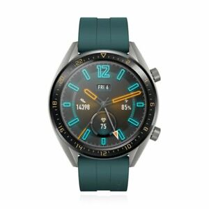 Huawei-Watch-GT-Active-46mm-Smartwatch-Fitnesstracker-Dark-Green-Gruen-Uhr-Sport