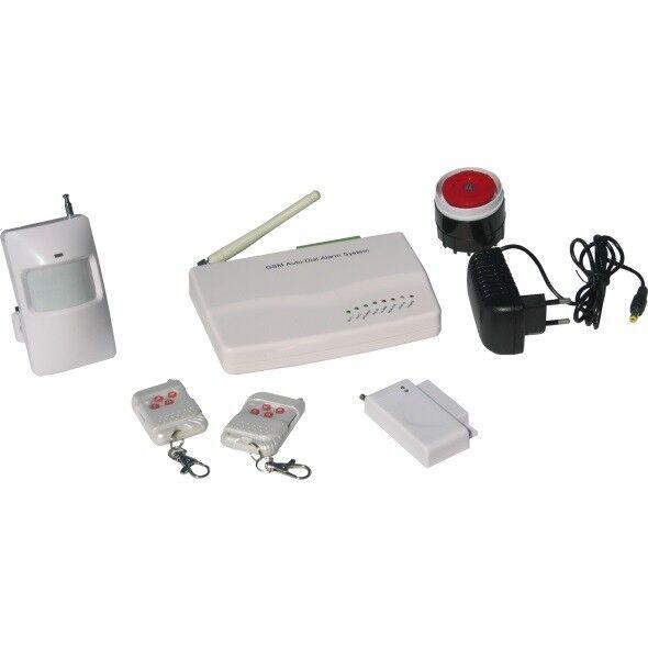 Kit de Alarma para GSM con batería.ALARMA PARA TARJETA GSM. Sistema de seguridad