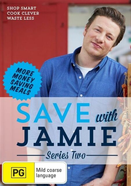 Save With Jamie : Series 2 - Region 4 NEW & SEALED *FREE POST*