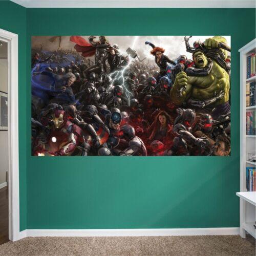 KLEISTER T27 Vlies Fototapete Tapete Poster ironman avengers hulk thor