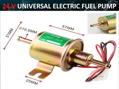 24V ELECTRIC FUEL PUMP FACET CYLINDER STYLE TRACTOR BOAT UK BASED SELLER