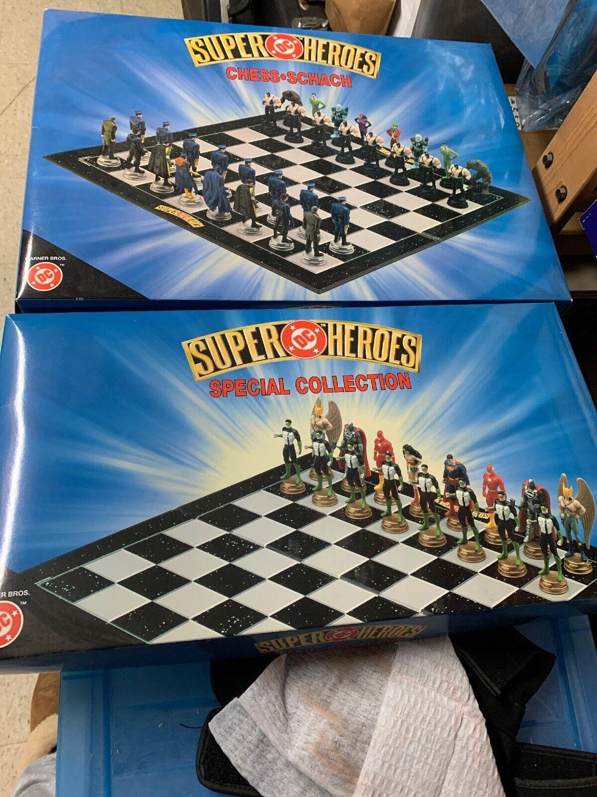 DC Superheroes Batman Chess Set (Very Rare) Year 2000 A La Carte