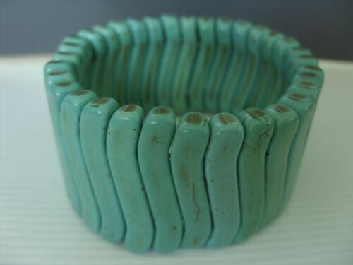 Turquesa pulsera brazalete pulsera 32 x 7 cm elementos en stretchband 19,5 cm