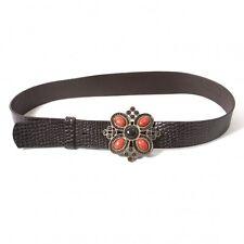 DKNY Bijou Buckle Leather Belt(K-43416)