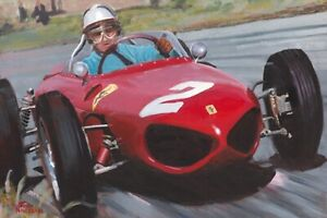 Giclee-1961-Ferrari-156-F1-2-Phil-Hill-USA-by-Toon-Nagtegaal-OE