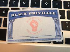 Official BLack Privilege ID Card
